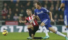 Gặp đội bóng đang trong nhóm đèn đỏ Sunderland là cơ hội cho Chelsea có chiến thắng đầu tiên sau khi chia tay Mourinho. Ảnh: Reuters.