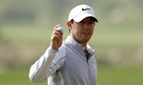McIlroy có cơ hội vô địch European Tour đầu năm. Ảnh: AFP.