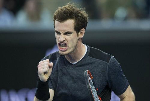 Murray rơi vào nhánh đấu nhẹ hơn so với Djokovic hay Federer. Ảnh: EPA.