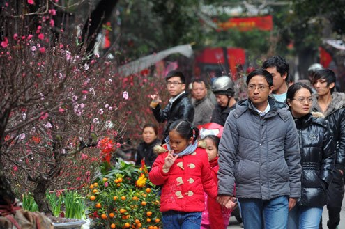 Học sinh thủ đô sẽ được nghỉ Tết Nguyên đán Bính Thân trong 9 ngày.