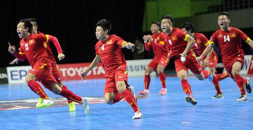 Tuyển Việt Nam xuất sắc giành vé dự Futsal World Cup