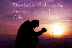 osho quotes on god
