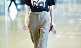 thời trang sân bay