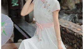 Váy đầm xòe vintage