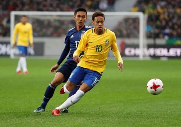 Dù Neymar làm hỏng Penalty thì Brazil vẫn thắng đậm