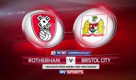 Rotherham United vs Bristol City (1h45 ngày 04/10: Cúp C1)