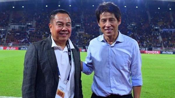 Thái Lan gia hạn hợp đồng với HLV Akira Nishino tới 2021